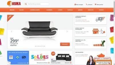 Basika, sp�cialiste du mobilier � prix discount