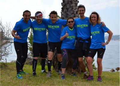 Bexter a particip� au 19� Ekiden de Toulon