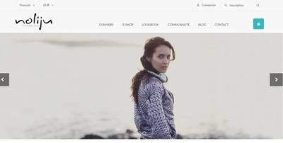 Noliju nouvelle r�alisation site web prestashop & r�f�rencement