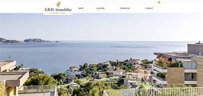 SBH immobilier - Nouvelle réalisation site immobilier Modèle Premium