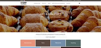 Site boutique Bexter - Nouvelle réalisation (Chef Gourmet)