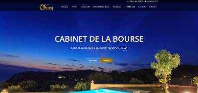 Cr ation de sites internet et r f rencement agence web - Cabinet de la bourse la valette du var ...